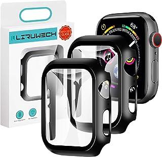 「2020夏モデル」LIRUWECH Apple Watch 用ケース 42mm アップルウォッチ保護ケース ガラスフィルム 一体型 アップルウォッチカバー series3 series2 series1 全面保護 高透過率 指紋防止 衝撃吸収...