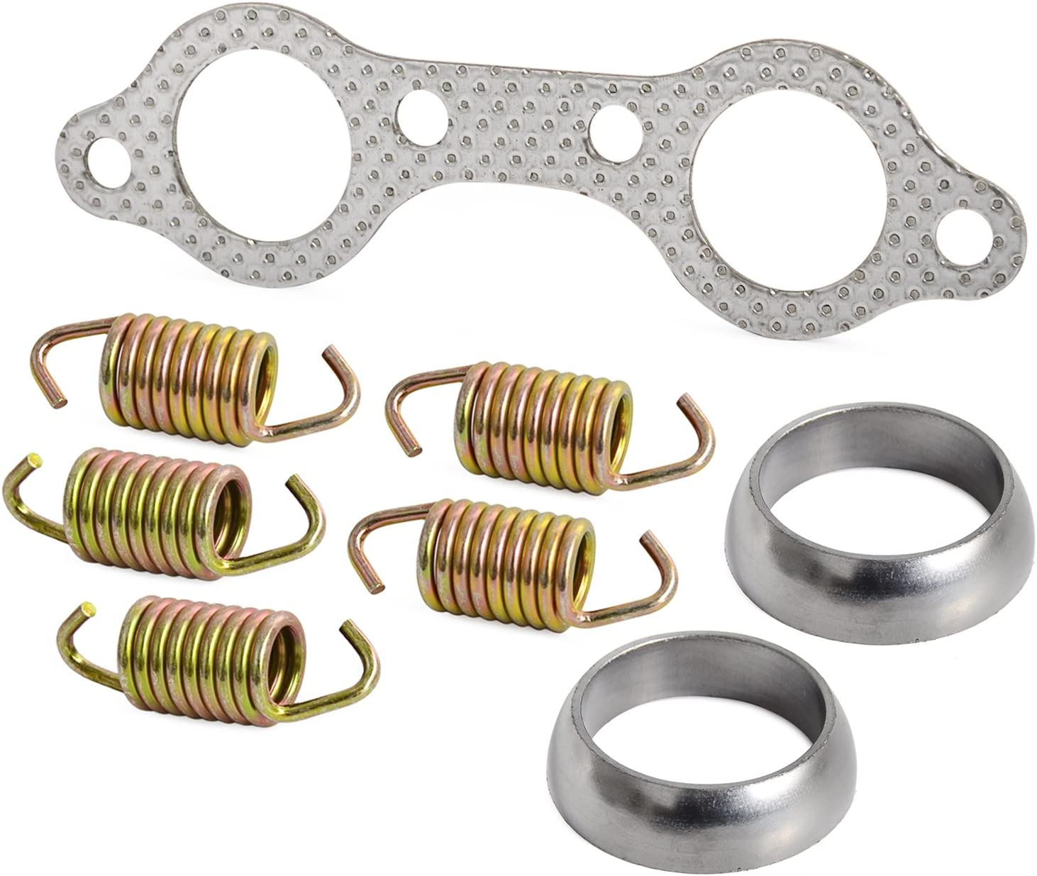 NICECNC New products National uniform free shipping world's highest quality popular Exhaust Pipe Manifold Gasket Kit Rebuild Compatib Spring