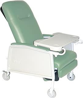 Drive Medical 3 Position Heavy Duty Bariatric Geri Chair Recliner, Jade