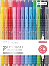 Tombow GCB-012 Playcolor 2 Double-Sided Marker (Set of 24)