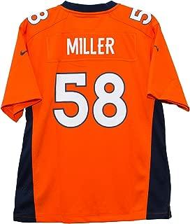 Nike Von Miller Denver Broncos Orange Game Youth NFL Jersey