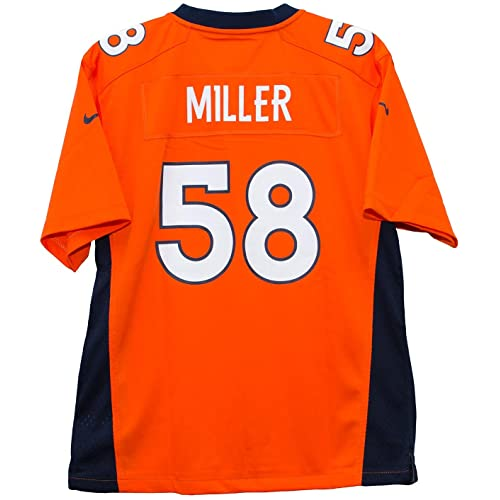 Nike Von Miller Denver Broncos Orange Game Youth NFL Jersey cf5b3647c