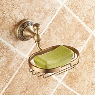 Fine Copper Antique soap Box soap Holder European soap net soap Dish Bathroom Hardware Pendant Thickening Soap Saver Box C...