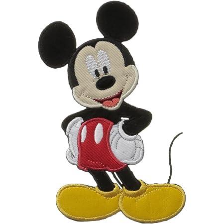 Disney Simplicity Parche Bordado (14,2 x 8,3 cm), diseño de Mickey Mouse, Multicolor