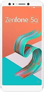 ASUS ZenFone 5Q 【日本正規代理店品】 6.0インチ / SIMフリースマートフォン / ムーンライトホワイト (4GB/64GB/3,300mAh) ZC600KL-WH64S4/A