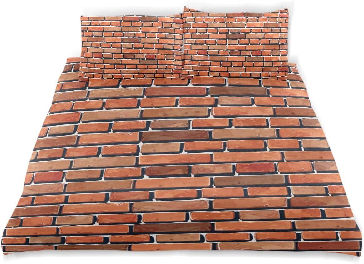 NBTZ ZX Red Brick Wall Kids Omaha Mall Crystal Velvet Import Bedding Soft T Cover