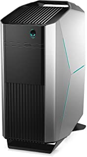 Alienware AURORA Gaming Desktop - Intel Core i7-8700K, 2TB + 512GB, 64GB, 8GB VGA-GTX1080, Eng-Arb-KB, Windows 10, Gray