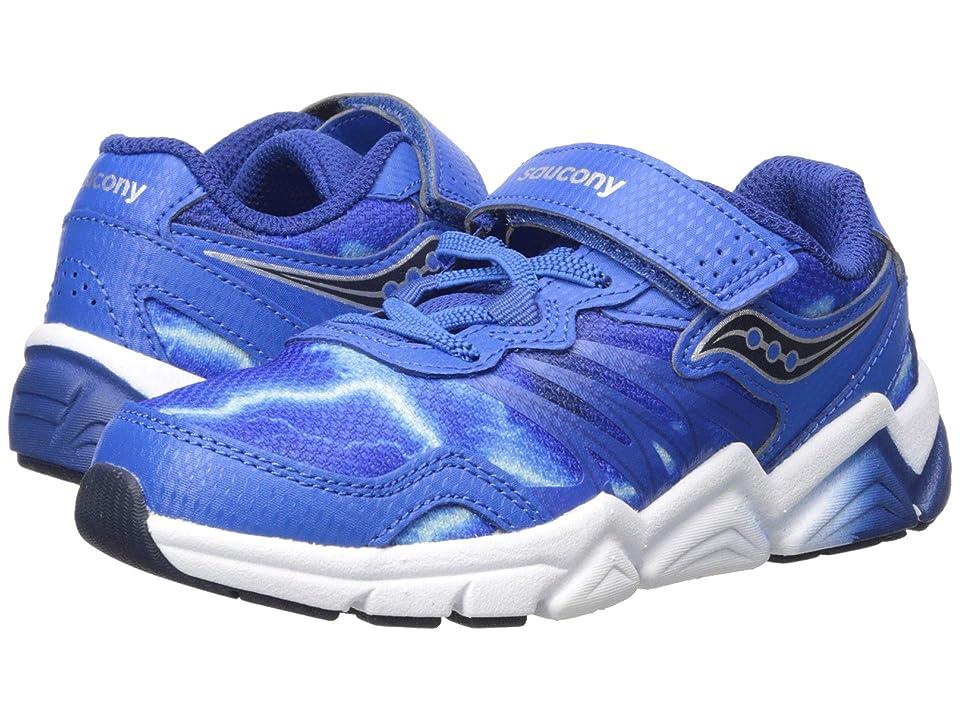 Saucony Kids Flash A/C (Little Kid) (Blue) Boys Shoes