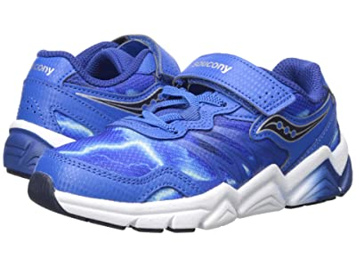 Saucony Kids Flash A/C (Little Kid) (Blue) Boys Shoes