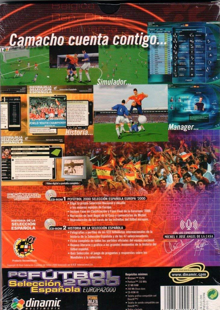 PC Fútbol 2000 Selección Española Europa 2000 en español Producto ...