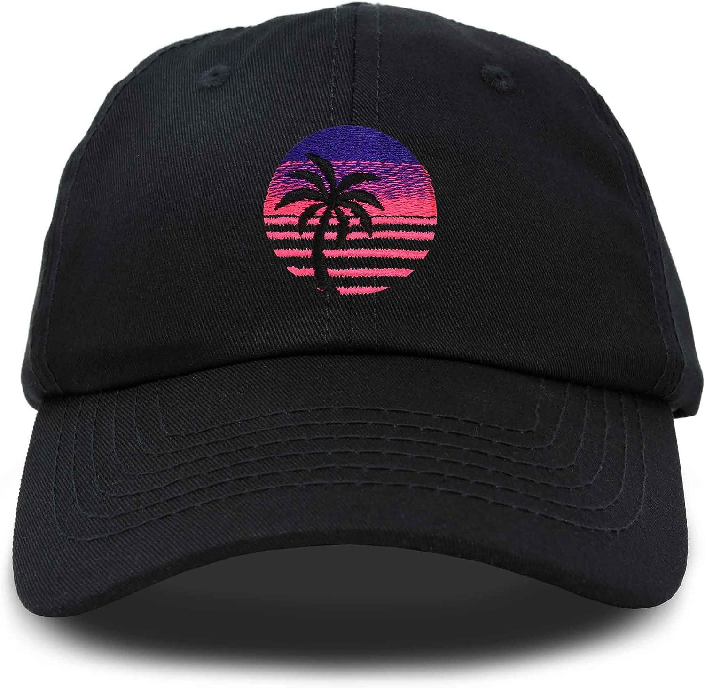DALIX Palm Tree Dad Hat Womens Embroidery Baseball Cap