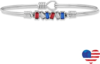 Luca + Danni Mini Hudson Bangle Bracelet in Americana Ombre