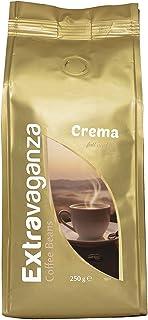 Extravaganza - Café crema en grano, 250 g  (lote de 12)