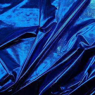 Spandex Metallic Fabric ROYAL BLUE, 60