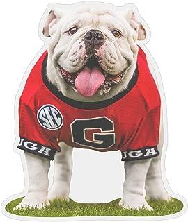 UGA Georgia Bulldogs Sticker - UGA X Mascot Photo Decal - 4