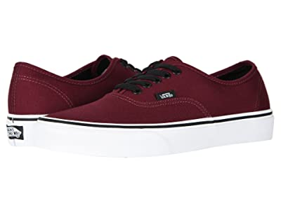 Vans Authentictm Core Classics (Port Royale/Black) Skate Shoes