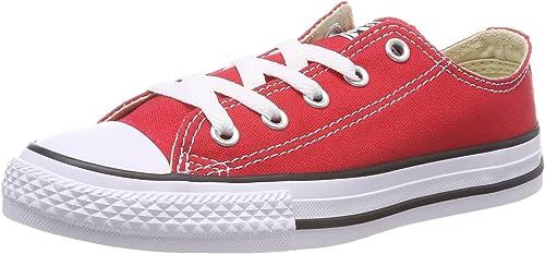 Converse C T T T All Star OX Peu Enfants Fashion paniers rouge 3j236-12 b28