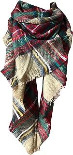 Womens Warm Long Shawl Wraps Large Scarves Knit Cashmere...