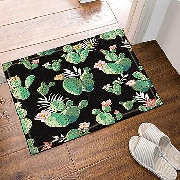 EdCott Mondrian interna tappetino antiscivolo tappetino bagno camera letto tappeto cucina tappetino porta esterna stuoia porta mat 40x60 cm famiglia tappeto quadrato creativo nuovo stile