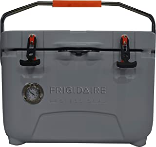 FRIGIDAIRE Professional 25-Qt. Roto-Molded Hard Cooler with Built-in Thermometer, Graphite, FXHC2501-GRAPHITE