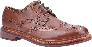 Cotswold Mens Quenington Leather Lace Up Brogue Oxford Shoes