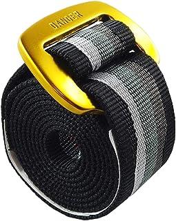 iBelt, Cintura in Tela, Tessuto Poliestere con Fibia in Allumunio, Unisex Uomo Donna, Componibile, Vegan (125 cm, Oro)