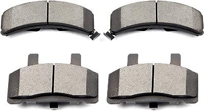 Brake Pads,ECCPP 4pcs Front Ceramic Brake Pads Kit fit for Cadillac Escalade Chevy C1500 Suburban C2500 Express Suburban K2500 Tahoe Dodge Ram 1500 GMC C1500 Suburban C2500 Suburban K2500 Savana