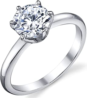 1.25 ct solitaire engagement ring
