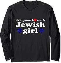 Best everyone loves a jewish girl shirt Reviews