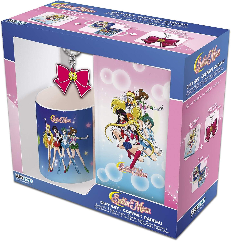 ABYstyle – Sailor Moon – Gift Box - Llavero, taza y cuaderno