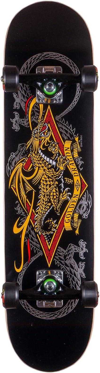 powell golden dragon flying dragon complete skateboard reviews
