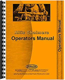 New Operator's Manual For Allis Chalmers 410 Plow Tractor