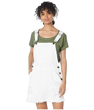 Show Me Your Mumu Georgia Overalls Dress (Foam White) Women