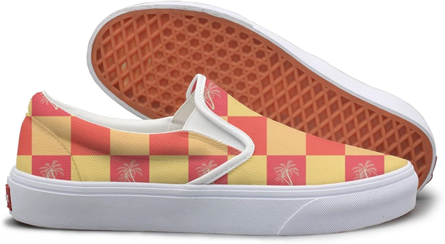Coconut Palm Trees Top Sneakers For Women