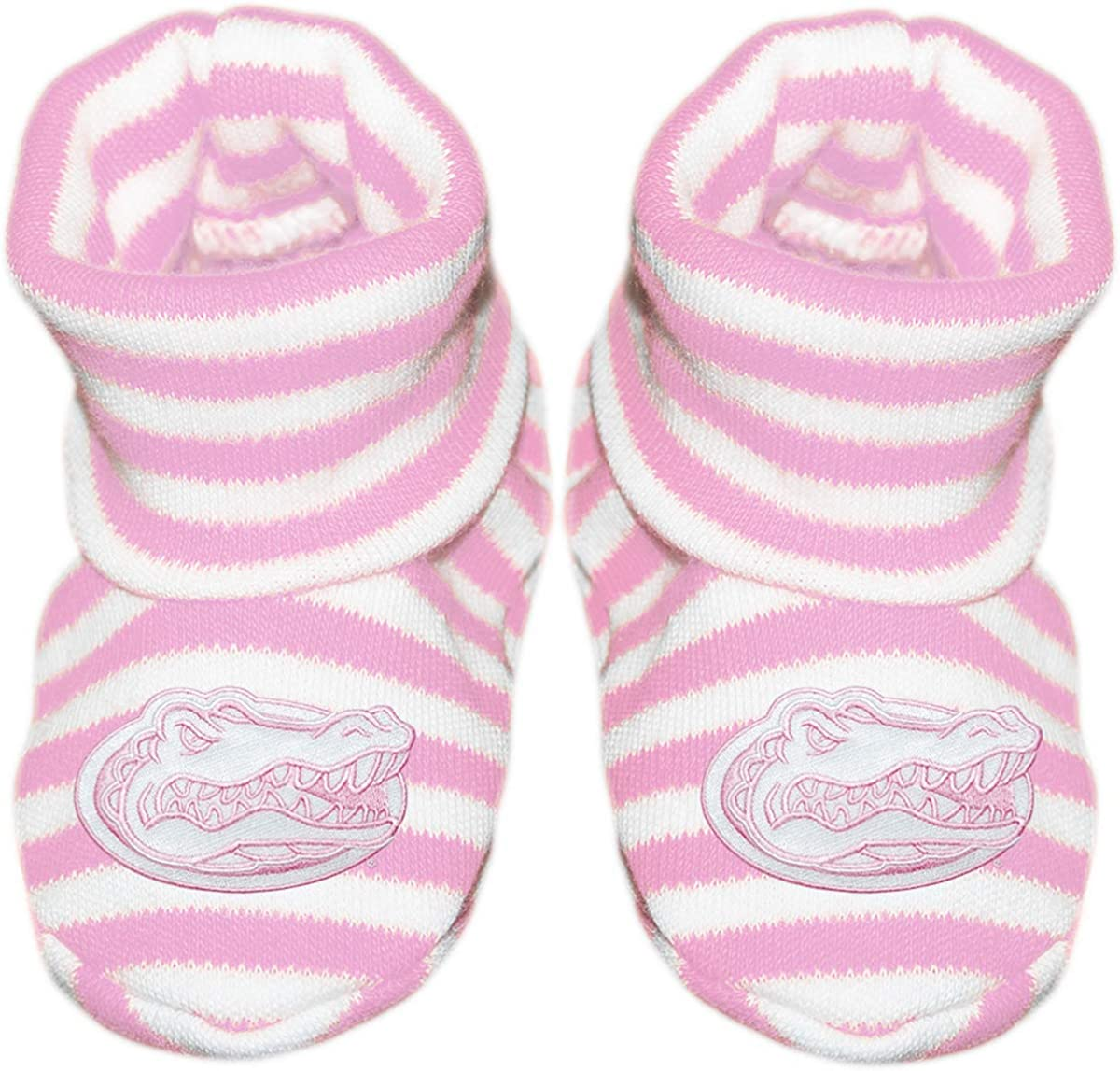 University of Florida Gators Newborn Baby Striped Bootie Sock