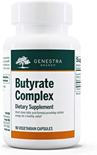 Genestra Brands - Butyrate Complex - Butyric Acid from Calcium/Magnesium Butyrate* - 90 Vegetarian Capsules