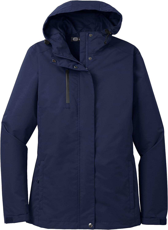 Mato & Hash Womens Three Season All Condition Jacket - MH - True Navy MHL331SA 2XL