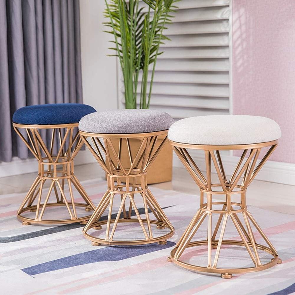 Chaise salle à manger, Accueil Coin cuisine Chaise Chaise d'appoint Flanelle Coussin Chaise Bandage for Bureau Café et salle à manger (Color : Pink) Light Gray