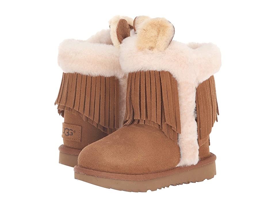UGG Kids Darlala Classic II (Toddler/Little Kid) (Chestnut) Girls Shoes