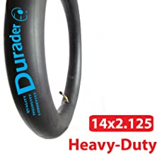 14x2.125 Inner Tube with Angled Valve for Electric Bike