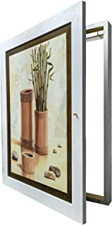 Tapa contador cuadro de luz Moldura c/cuelga llaves 1 puerta,m/ext 56 Alto x43 Ancho x5'7 cms.