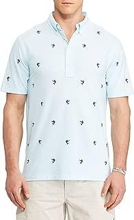 Men's Big & Tall Hampton Embroidered Marlin Knit Oxford Shirt