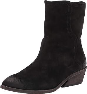 حذاء برقبة قصيرة للنساء من Frye Farrah Wave متوسط الساق, (أسود), 37 EU