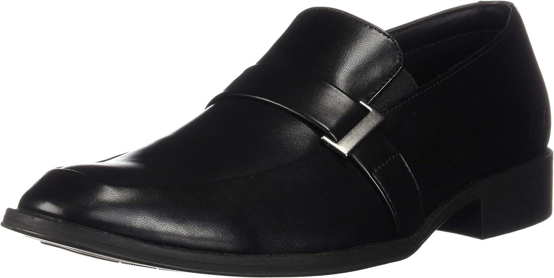 Skechers Men& 39;s Larken-Magno Monk-Strap Loafer