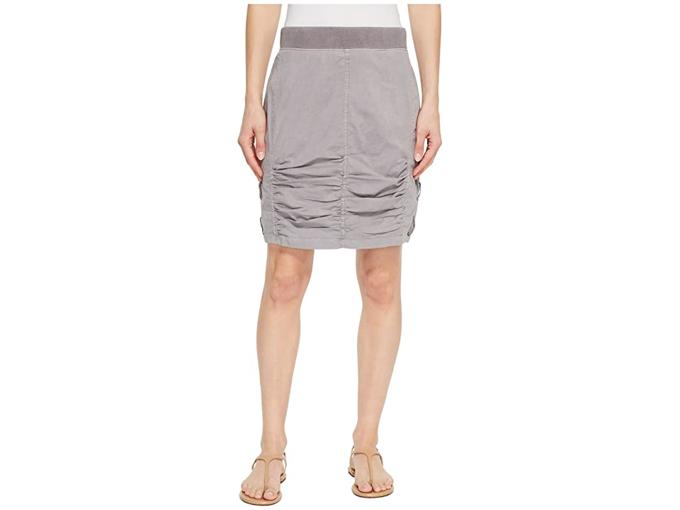 XCVI Tammy Skirt (Grey Mist Pigment) Women