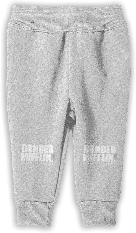 Dunder Mifflin Paper Lnc Juvenile Pants Cotton Sweatpants Elastic Sweatpants for Boys Or Girls