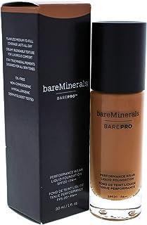 BareMinerals Barepro Performance Wear Liquid Foundation SPF 20-27 Cappuccino for Women - 1 oz