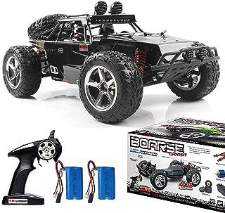 YIMAN Ferngesteuertes Auto 20KM//H Hohe Geschwindigkeit mit Zwei Schalen 800mAh Batterie 1:22 2,4GHz Elektro Off-Road Alles Gel/ände Buggy f/ür Kinder