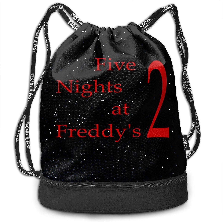 Unisex Drawstring Backpack FiveNightsatFreddy's 2Logo Sport Gym Drawstring Bag