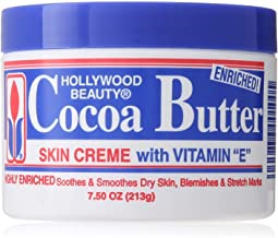 Hollywood Beauty Cocoa Butter With Vitamin- E 7.5 Ounce (221ml) (3 Pack)